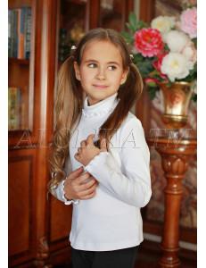"""Джемпер для девочек белого цвета """"Кэри"""""""